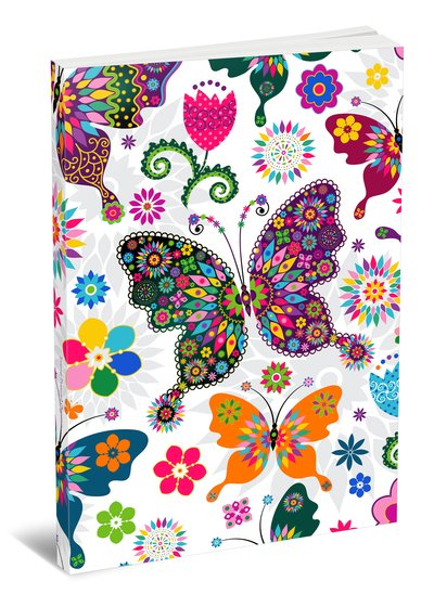 Internet Password Organizer - Discreet Password Journal - Butterfly Effect