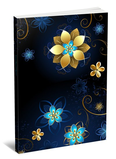 Internet Password Organizer - Discreet Password Journal - Flowers